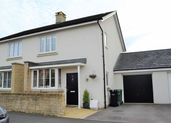 Thumbnail 3 bed semi-detached house for sale in Nightingale Way, Midsomer Norton, Radstock
