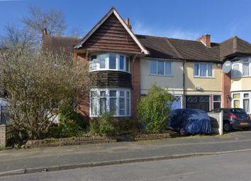 Thumbnail 4 bed semi-detached house for sale in Selwyn Road, Edgbaston, Birmingham