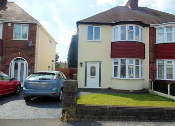 Thumbnail 3 bedroom semi-detached house for sale in York Avenue, Willenhall