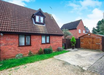 Thumbnail 2 bed semi-detached house for sale in Canonsfield, Werrington, Peterborough
