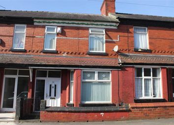 Thumbnail 3 bed terraced house for sale in Rushmere Avenue, Levenshulme, Manchester