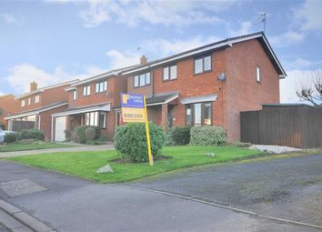 Thumbnail 4 bed detached house for sale in Grayling Close, Broomhall, Worcester