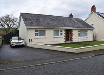 Thumbnail 3 bed detached bungalow for sale in Pentrecwrt, Llandysul, Carmarthenshire