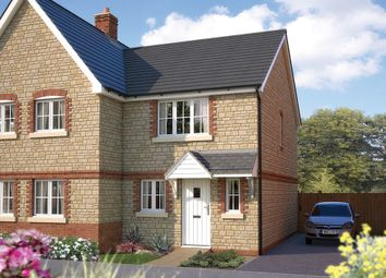 "Thumbnail 2 bedroom semi-detached house for sale in ""The Amberley"" at Dudley Road, Honeybourne, Evesham"