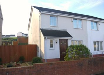 Thumbnail 3 bed semi-detached house to rent in Pentre Treharne Road, Landore, Swansea