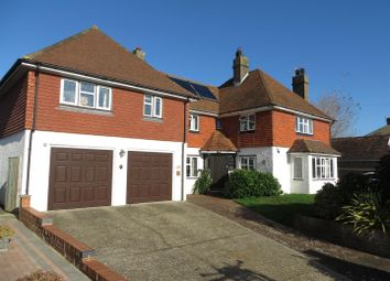 Thumbnail 4 bed detached house for sale in Grove Road, Seaford
