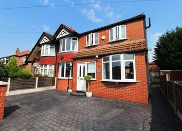 Thumbnail 4 bed semi-detached house for sale in Councillor Lane, Cheadle, Cheshire, .