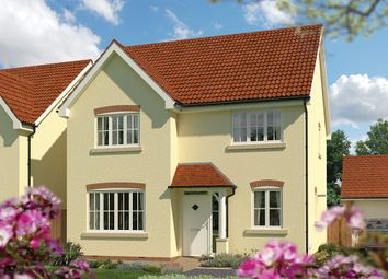 "Thumbnail 4 bedroom detached house for sale in ""The Aspen"" at Priory Fields, Wookey Hole Road, Wells, Somerset, Wells"