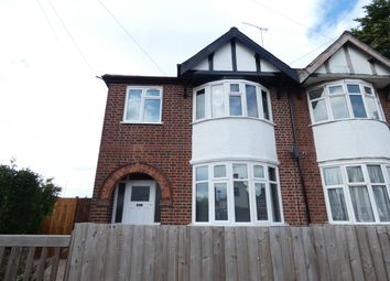 Thumbnail 3 bed semi-detached house to rent in Glenfield Road, Western Park, Leicester