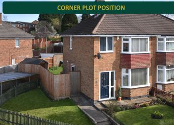 Thumbnail 3 bed semi-detached house for sale in Godwin Avenue, Wigston, Leicester