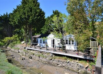 Thumbnail 2 bed detached bungalow for sale in Sandplace, Looe, Cornwall