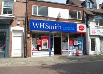 Thumbnail Retail premises for sale in 6 Anson Street, Rugeley