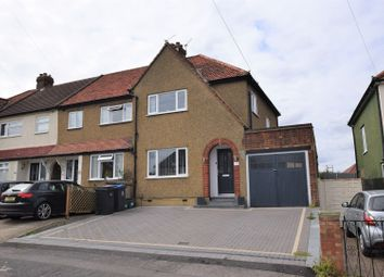 Thumbnail 3 bed end terrace house for sale in Church Lane, Chessington