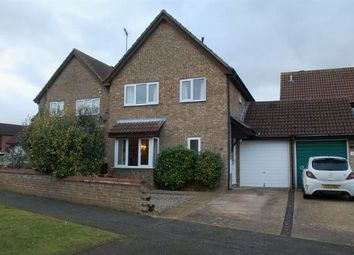 Thumbnail 3 bed detached house for sale in Mendip Road, Duston, Northampton