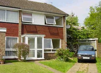 Thumbnail 3 bedroom semi-detached house to rent in Cobill Close, Hornchurch