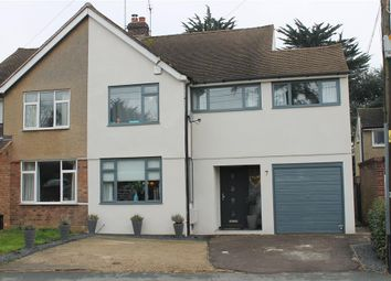 Thumbnail 3 bed semi-detached house for sale in Jacksons Lane, Billericay, Essex