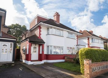 Thumbnail 4 bed semi-detached house for sale in Newnham Gardens, Northolt, Middlesex