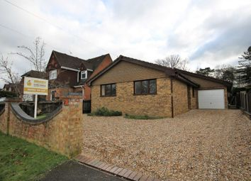 Thumbnail 3 bedroom bungalow to rent in Cranford Avenue, Church Crookham, Fleet