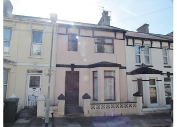 Thumbnail 4 bed terraced house for sale in Pearson Avenue, Plymouth