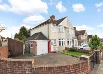 Thumbnail 3 bed semi-detached house for sale in Dorset Avenue, South Welling, Kent