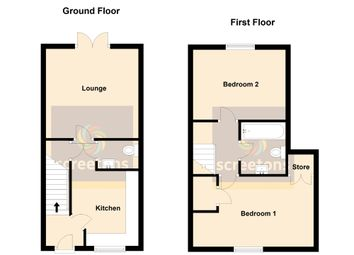 Thumbnail 2 bed town house for sale in St. Georges Road, Thorne, Doncaster