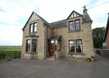 Thumbnail 3 bed detached house for sale in Station Road, Carstairs Junction, Lanark