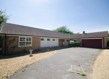 Thumbnail 4 bed bungalow to rent in Main Street, Little Thetford, Ely