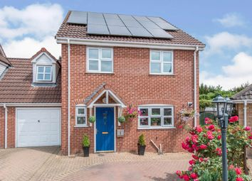 Thumbnail 4 bed link-detached house for sale in Bluebell Close, Watton, Thetford