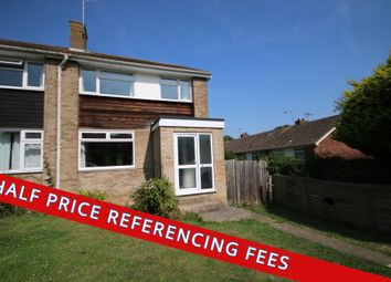 Thumbnail 4 bedroom end terrace house to rent in Tenterden Drive, Canterbury, Kent