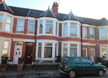Thumbnail 3 bed terraced house for sale in Braeval Street, Roath, Cardiff