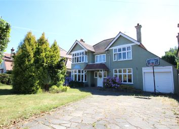 Thumbnail 4 bed detached house for sale in Battlefield Road, St. Albans, Hertfordshire