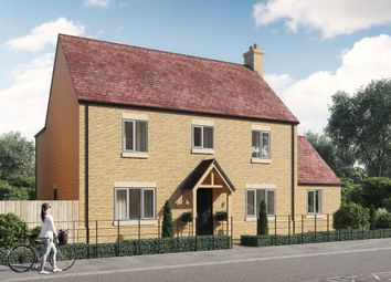 Thumbnail 5 bed detached house for sale in Lincoln Road, Glinton, Peterborough