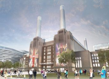 3 bed flat for sale in Boiler House Square, Battersea Power Station SW8, London