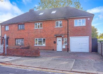 Thumbnail 5 bed semi-detached house for sale in Grange Road, Gravesend
