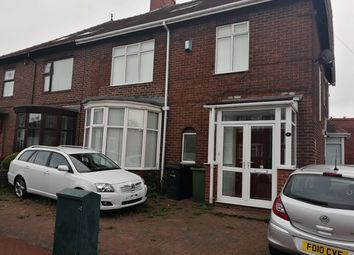 Thumbnail 8 bed shared accommodation to rent in Gowland Avenue, Fenham, Newcastle Upon Tyne