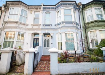 Thumbnail 3 bed terraced house for sale in Sackville Road, Hove, East Sussex