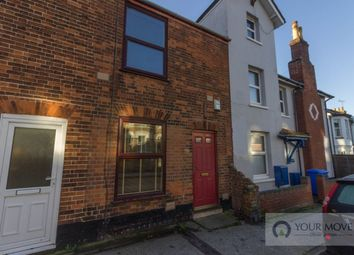 Thumbnail 2 bedroom terraced house for sale in Church Road, Lowestoft