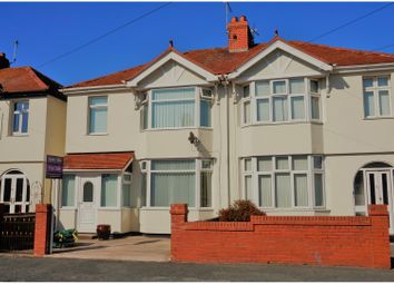 Thumbnail 3 bed semi-detached house for sale in Warren Road, Rhyl