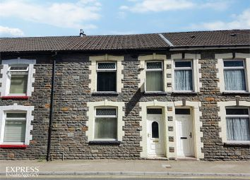 Thumbnail 3 bed terraced house for sale in Aberrhondda Road, Porth, Mid Glamorgan