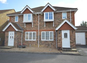 Thumbnail 3 bed end terrace house to rent in St. Catherines Close, Chessington, Surrey