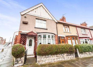 Thumbnail 2 bed end terrace house for sale in Colwyn Road, Hartlepool