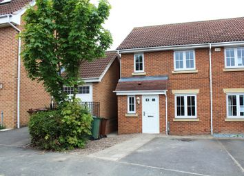 Thumbnail 3 bed end terrace house for sale in Cherry Tree Walk, Knottingley