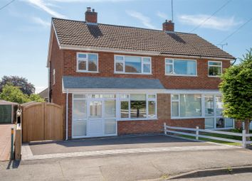 Thumbnail 3 bed semi-detached house for sale in Ribble Drive, Barrow Upon Soar, Loughborough