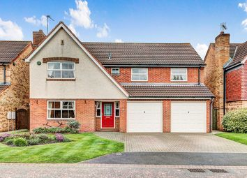 Thumbnail 5 bed detached house for sale in Kelsey Way, Cramlington