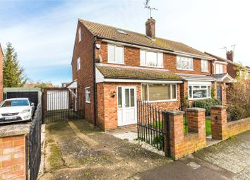 Thumbnail 3 bed semi-detached house for sale in Childscroft Road, Rainham, Kent