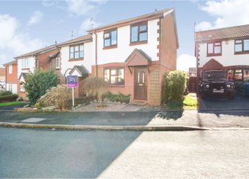 Thumbnail 3 bed semi-detached house for sale in Swallow Close, Stoke-On-Trent