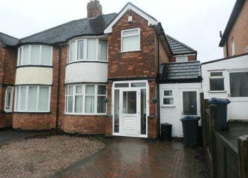 Thumbnail 4 bed semi-detached house for sale in Beechmore Road, Sheldon, Birmingham