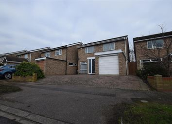 Thumbnail 4 bed detached house for sale in Bure Close, Bedford