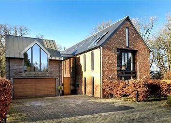 Windlebrook Park, Longcross Road, Longcross, Chertsey KT16. 5 bed detached house for sale