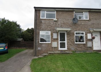 Thumbnail 2 bed end terrace house for sale in Hedgemoor, Brackla, Bridgend